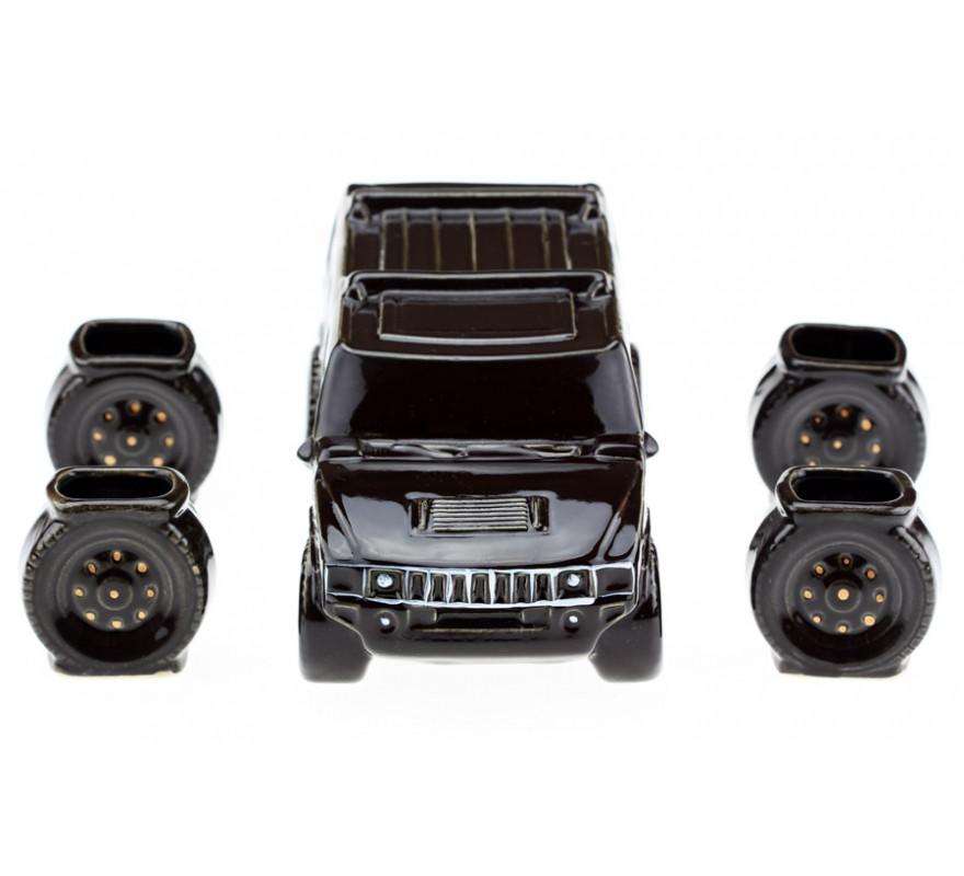 Подарочный набор Hummer (Хаммер) черный, 5 предметов