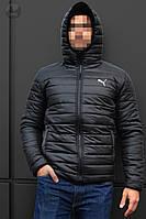 Новая Осенняя Мужская Куртка Черная Куртки Мужские Теплые Брендовые