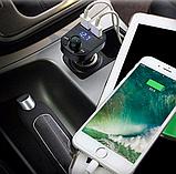 FM модулятор Car X8 Premium Bluetooth, фото 5