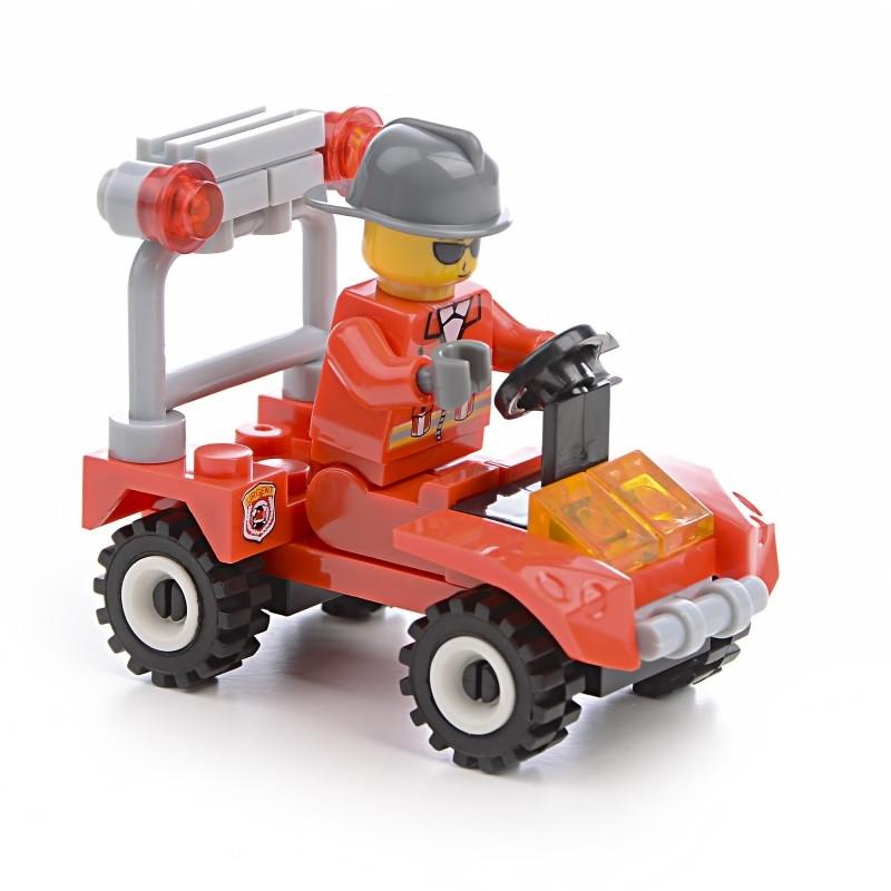 Конструктор пожарные квадроцикл IM465
