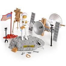КосмическийНабор космонавт спутник фигурки IM66B2
