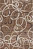 Стильна турецька килимова доріжка Мокко супер якість