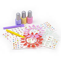 Игровой набор для девочки Наклейки для ногтей IE61