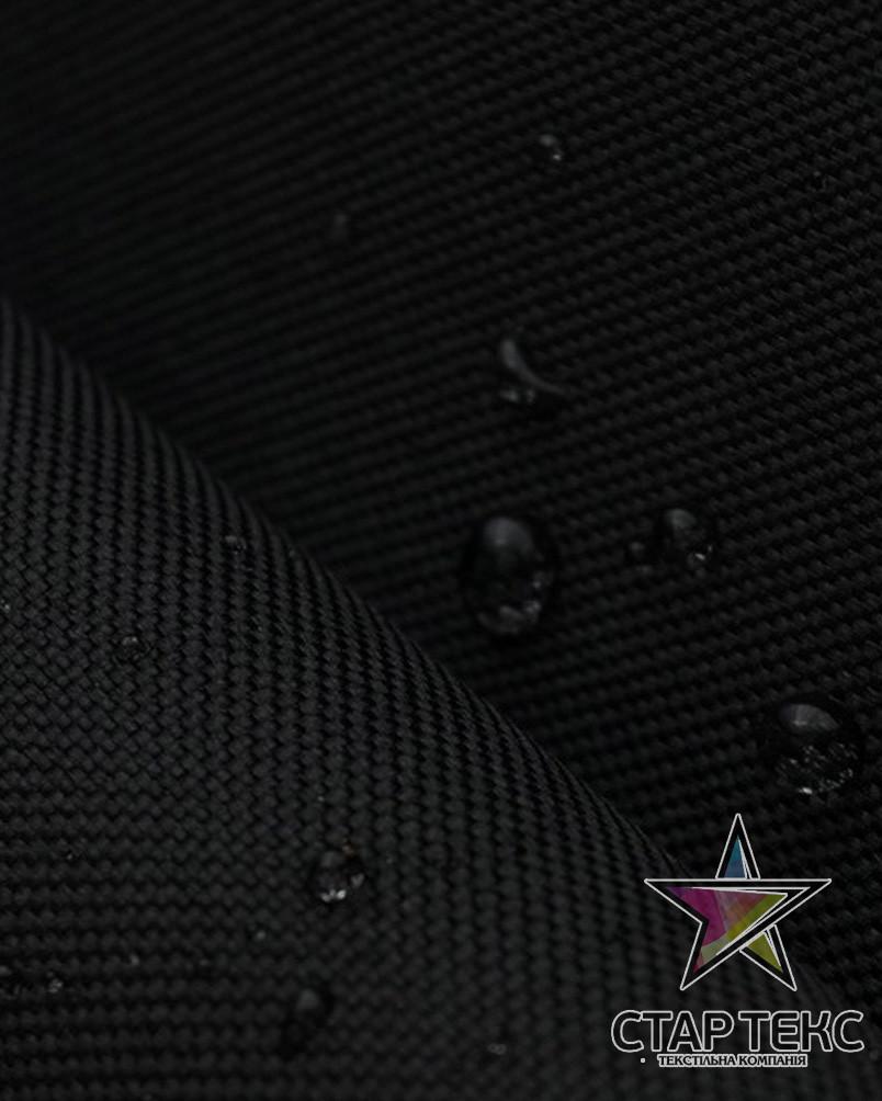 Палаточная ткань Оксфорд 210GSM 600D черный