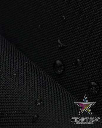 Палаточная ткань Оксфорд 210GSM 600D черный, фото 2