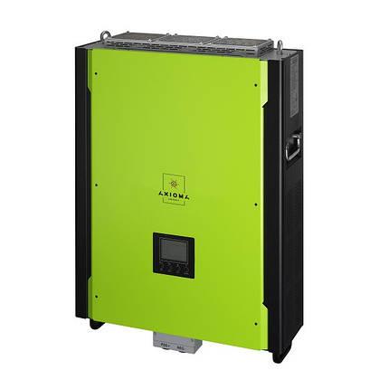 Сетевой инвертор с резервной функцией 10кВт, 380В, ISGRID 10000, AXIOMA energy, фото 2