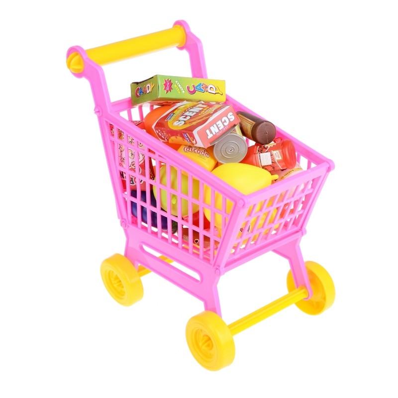 Візок іграшка з фруктами для дівчинки IF220