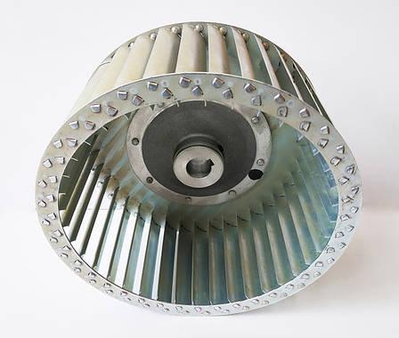 Рабочее колесо воздушного центробежного вентилятора 250х115. Крыльчатка для центробежного вентилятора, фото 2