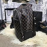 Брендовый рюкзак Louis Vuitton M118 коричневый, фото 4