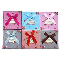 Подарочные коробочки 6шт «Present for you» под набор украшений, фото 1