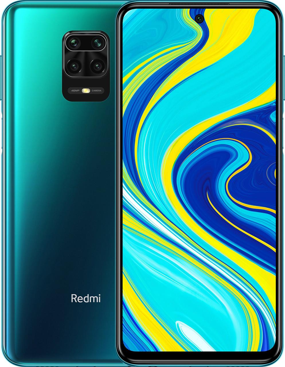 Смартфон Xiaomi Redmi Note 9S 4/64Gb Aurora Blue [Global] (M2003J6A1G) EAN/UPC: 6941059640431