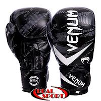 Перчатки боксерские кожаные Venum Impact VL-2038, фото 1
