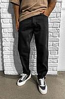 Мужские джинсы мом черные
