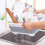 Чудо-сушилка трансформер (складная) для сушки посуды и кухонных приборов (люкс качество), фото 2