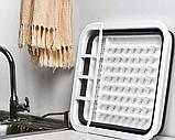 Чудо-сушилка трансформер (складная) для сушки посуды и кухонных приборов (люкс качество), фото 3