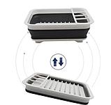 Чудо-сушилка трансформер (складная) для сушки посуды и кухонных приборов (люкс качество), фото 7