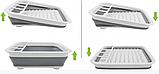 Чудо-сушилка трансформер (складная) для сушки посуды и кухонных приборов (люкс качество), фото 9
