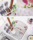 Чудо-сушилка трансформер (складная) для сушки посуды и кухонных приборов (люкс качество), фото 10