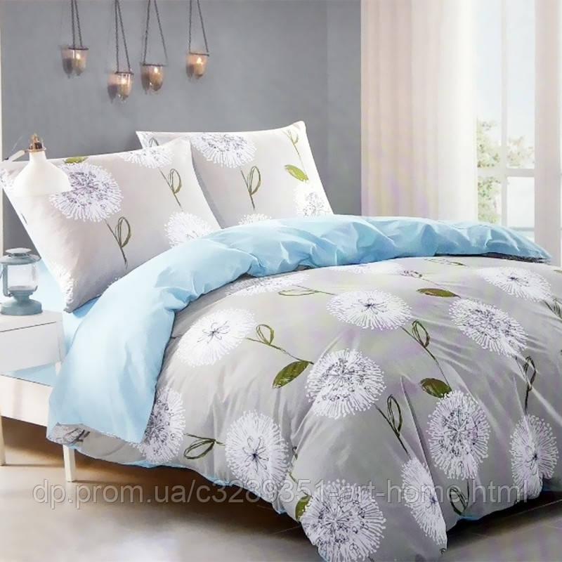 Комплект постельного белья евро Elway 5060 Dandelion
