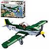 Конструктор SLUBAN M38-B0857 військовий літак, фігурка, 323дет., кор., 38-29-7см.