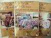 Комплект постельного белья полуторный Elway 5059 Yellow Stripes, фото 2
