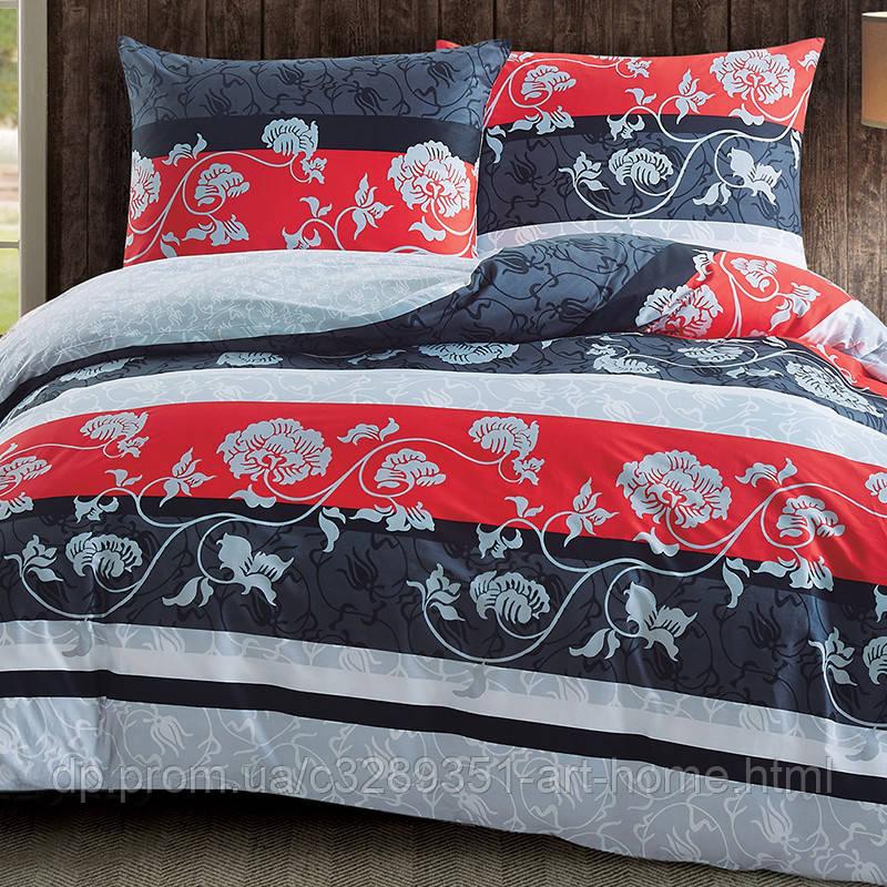 Комплект постельного белья семейный Elway 5068 Ethno