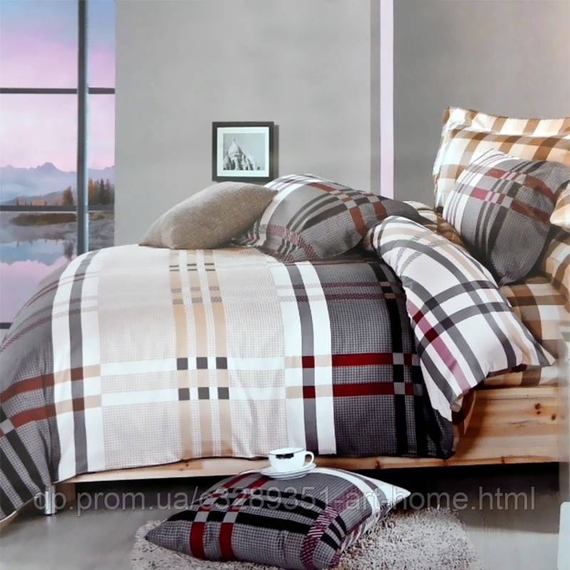 Комплект постельного белья полуторный Elway 5062 Mist