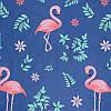Фламинго в зеленых листьях (Полуторный), фото 3