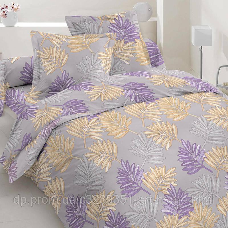 Фиолетово-золотые листья (Двуспальный)