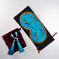 Маска для сна голубая «Завтрак у Тиффани»