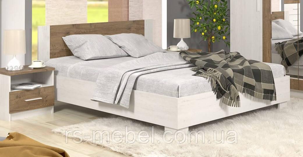 """Кровать 180 """"Маркос - андерсен пайн"""" (Мебель-Сервис)"""