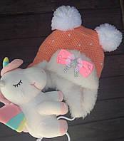 Шапка детская с мехом Dizzy market
