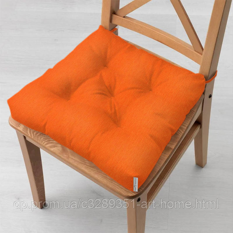 Подушка на стул 40x40 см Kanzas Mandarin