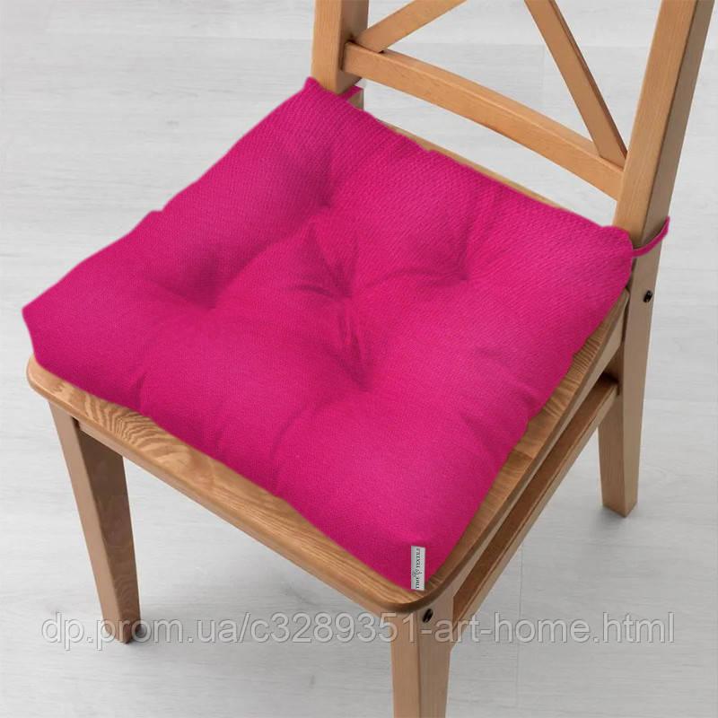 Подушка на стул 40x40 см Kanzas Raspberry