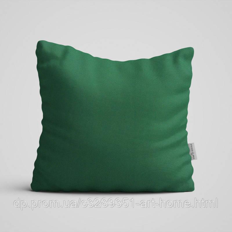 Декоративная подушка на диван Time Textile Kanzas Emerald