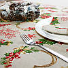Скатерть Merry Christmas Hearts     100x160, фото 2