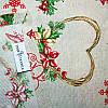 Скатерть Merry Christmas Hearts     100x160, фото 3