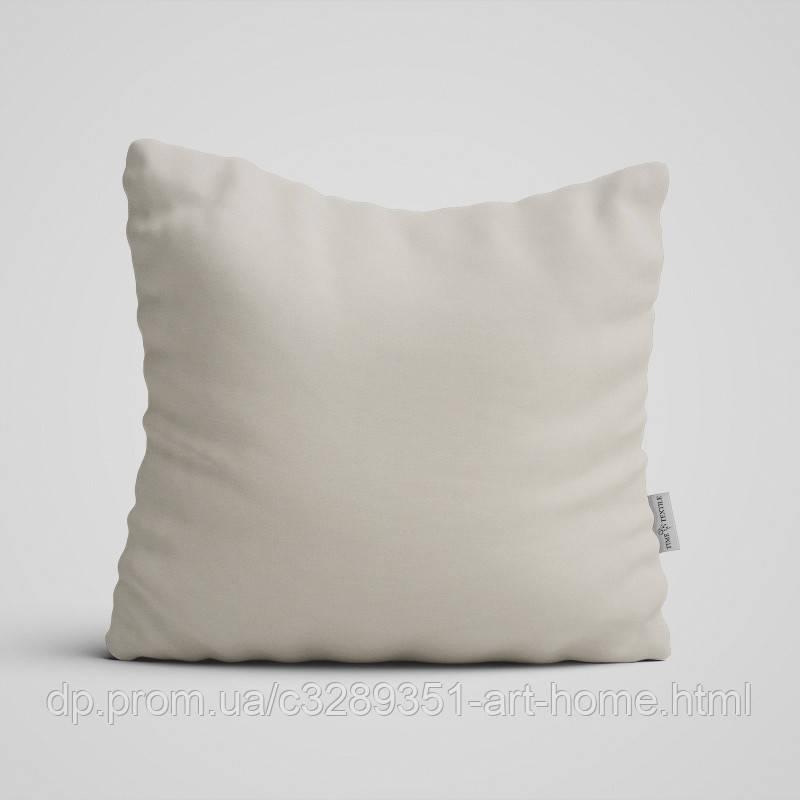 Декоративная подушка на диван Time Textile Kanzas Ivory