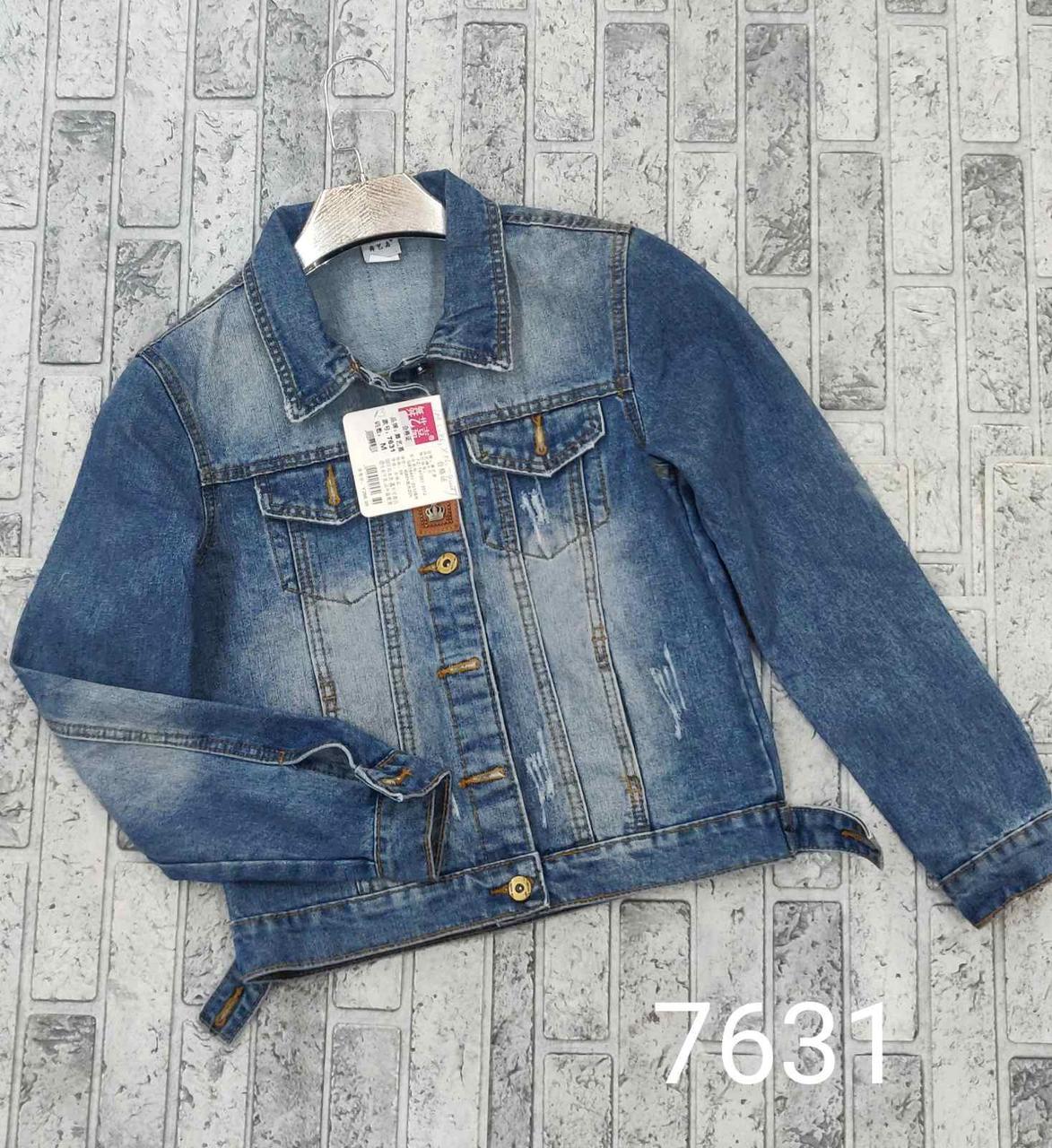 Джинсовая куртка женская на весну (42-48)