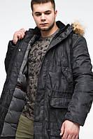 Куртка зимняя молодежная Braggart Youth, для парня 13-25 лет, черная