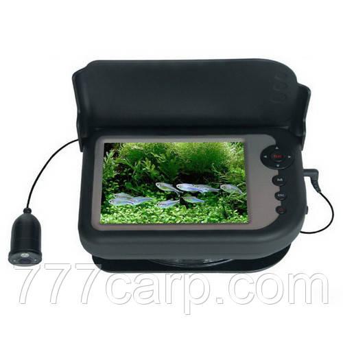 """СС5-PRO-DT-HD видео камера с датчиком температуры и глубины 5"""" цветной монитор с записью в кейсе, ИК подсветка"""