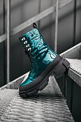 Женские ботинки Both демисезонные (Зелёные)