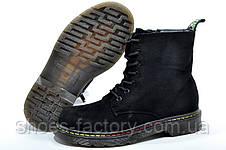 Ботинки в стиле Dr. Martens, Доктор Мартинс Black, фото 3