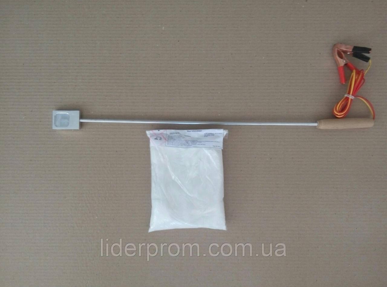 Испаритель (сублиматор)  кислоты  для обработки ульев от клеща Варроа + щавелевая кислота 0,5 кг.