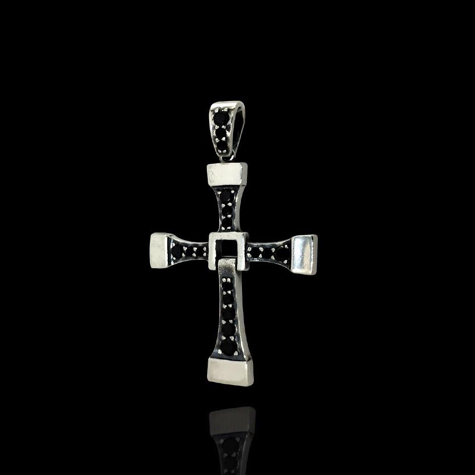 Срібний хрест Вин Дизеля, 5 грам