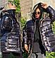 """Тёплая мужская куртка-пальто синтепон  059 """"Капюшон Карманы Контраст"""" в расцветках, фото 3"""