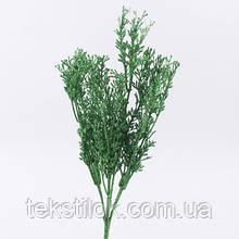 Цветы эвкалипт глиттер зеленый 15 см Новогодний декор