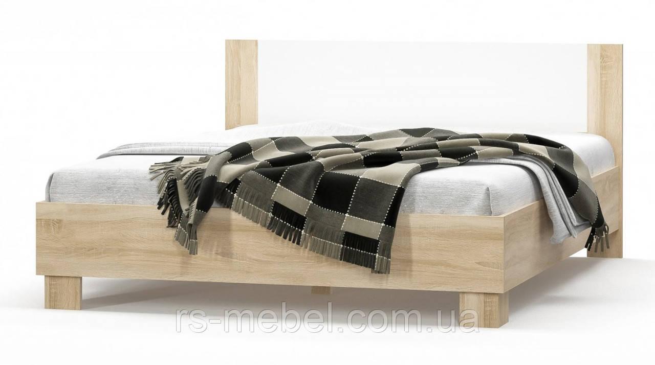"""Кровать 180 """"Маркос - дуб сонома"""" (Мебель-Сервис)"""