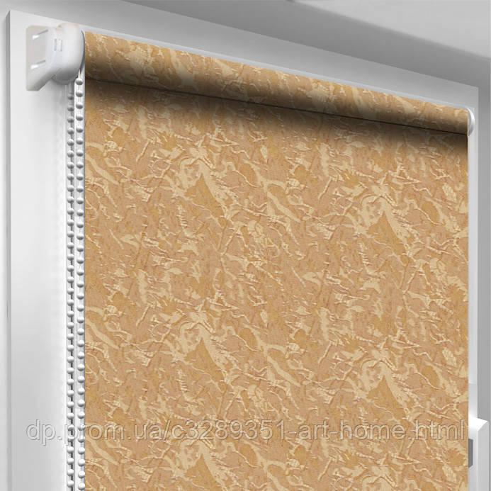 Рулонная штора Oasis Светло-коричневая -