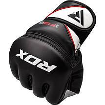Перчатки ММА RDX Rex Leather Black M, фото 3